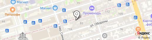 Мир ногтей на карте Ростова-на-Дону