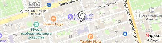 Идеал Форм на карте Ростова-на-Дону