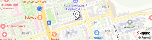 ПКФ ЭКОПОЛЬЗА на карте Ростова-на-Дону