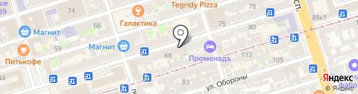 Илюзариум на карте Ростова-на-Дону