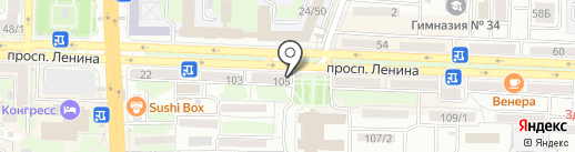Убежище Мечтателя на карте Ростова-на-Дону