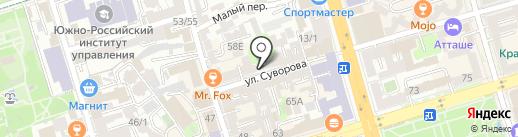 РостАлмазСтрой на карте Ростова-на-Дону