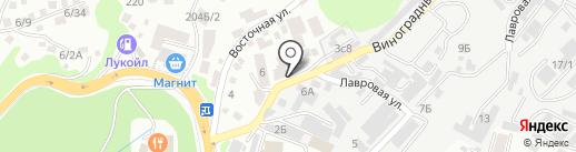 Буль-Буль на карте Сочи