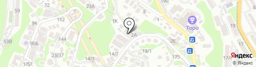 АрхиНова и К на карте Сочи