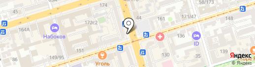 Тако на карте Ростова-на-Дону