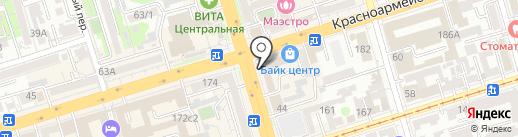 Билайн на карте Ростова-на-Дону