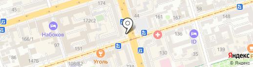 Панчо на карте Ростова-на-Дону