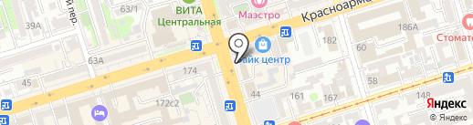 Lady Sharm на карте Ростова-на-Дону