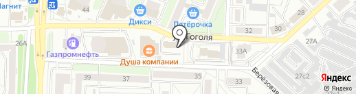 Гоголевский хуторок на карте Рязани