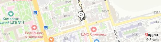 #ЯШЕФ на карте Ростова-на-Дону