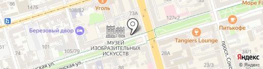 Шерлок на карте Ростова-на-Дону