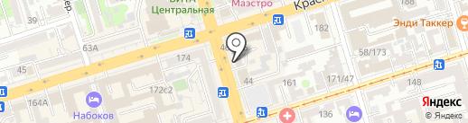 Богураевское рудоуправление, ЗАО на карте Ростова-на-Дону