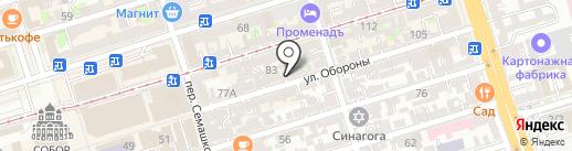 Южная оконная компания на карте Ростова-на-Дону