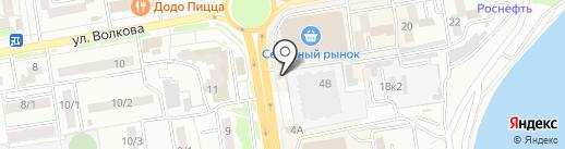 Деньги взаймы на карте Ростова-на-Дону