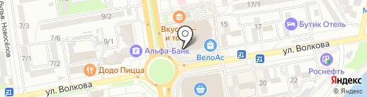 DREAM DRESS на карте Ростова-на-Дону