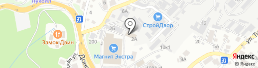 Арена на карте Сочи