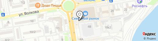 ЦирюльникЪ на карте Ростова-на-Дону