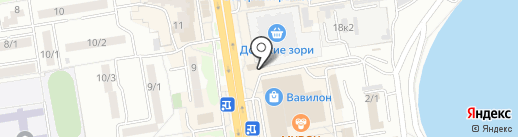 Мастерская по изготовлению ключей на карте Ростова-на-Дону