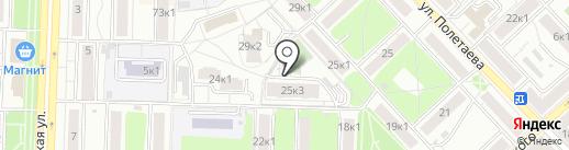 Рязанский институт дополнительного профессионального образования, переподготовки и инноваций на карте Рязани