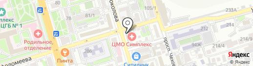 Платежный терминал, КБ Восточный банк на карте Ростова-на-Дону
