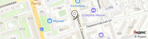 ПИЖАМА на карте Ростова-на-Дону