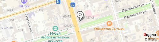 AERONUTS на карте Ростова-на-Дону