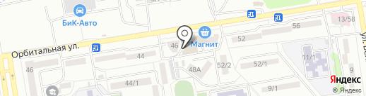 Аксинья на карте Ростова-на-Дону