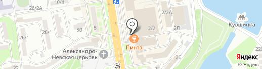 Фонбет на карте Ростова-на-Дону