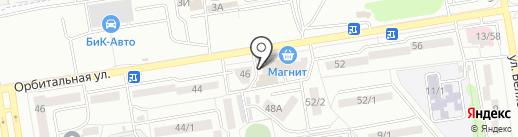 Непоседы на карте Ростова-на-Дону