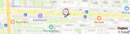 Fosko на карте Ростова-на-Дону