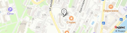 Форвард Мобайл на карте Сочи