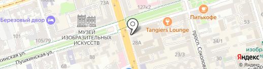 Витакон на карте Ростова-на-Дону