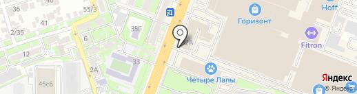 Unico на карте Ростова-на-Дону