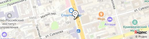 Шаурма по-дубайски на карте Ростова-на-Дону