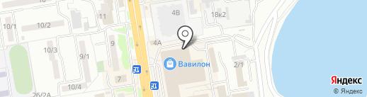 Confento на карте Ростова-на-Дону
