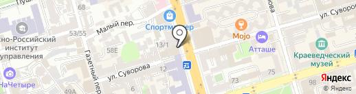 Платежный терминал, Сбербанк, ПАО на карте Ростова-на-Дону