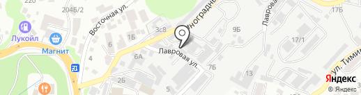 Auto-lapti на карте Сочи