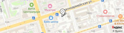 КСМ-14 на карте Ростова-на-Дону