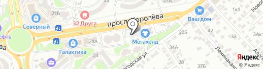 Премиум инжиниринг на карте Ростова-на-Дону