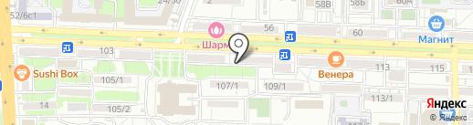 ArteMaks на карте Ростова-на-Дону