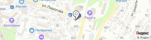 DPrime на карте Сочи