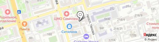Smart Trainer Studio на карте Ростова-на-Дону