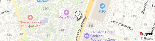 Мебель в дом на карте Ростова-на-Дону