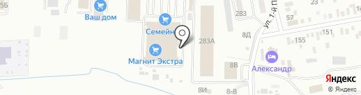 Банкомат, ГазПромБанк, АО на карте Батайска