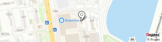 Август на карте Ростова-на-Дону