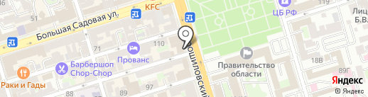 Банкомат, СКБ-банк, ПАО на карте Ростова-на-Дону