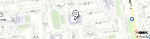 Студия восточных танцев на карте Ростова-на-Дону