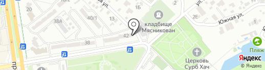 Лидер Стом на карте Ростова-на-Дону