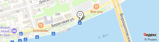 Баскин Роббинс на карте Ростова-на-Дону
