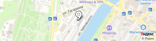Юридический кабинет Бурындиной А.И. на карте Сочи